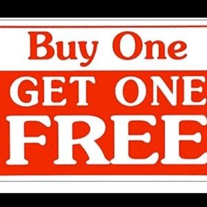 But one item at full price get one free!!🎈🎈🎈🎈
